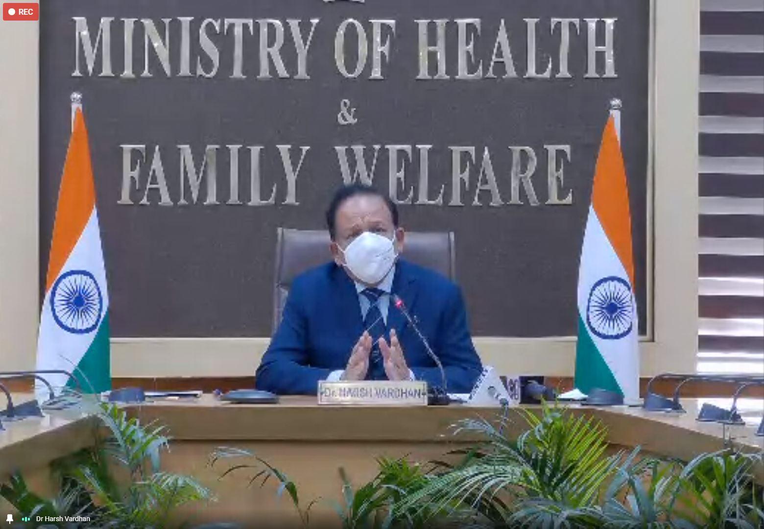 Union Minister Dr. Harsh Vardhan Speaks at IIMC